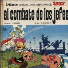 Tebeos: ASTERIX. EL COMBATE DE LOS JEFES. PILOTE - BRUGUERA 1969.. Lote 21371472
