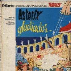 Tebeos: ASTERIX GLADIADOR. PILOTE - BRUGUERA 1968.. Lote 21377516