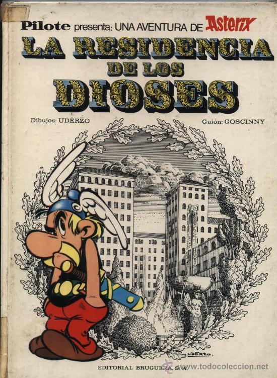 LA RESIDENCIA DE LOS DIOSES. PILOTE - BRUGUERA 1972. (Tebeos y Comics - Bruguera - Cuadernillos Varios)