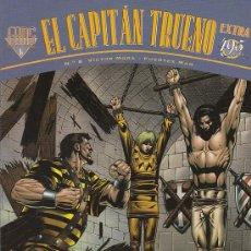 Tebeos: EL CAPITAN TRUENO EXTRA (FANS) Nº 8, VICTOR MORA, FUENTES MAN, COLOR, NUEVO. (VER PAGINA INTERIOR) X. Lote 21499238