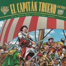Tebeos: EL CAPITAN TRUENO EXTRA (FANS) Nº 3, VICTOR MORA, FUENTES MAN, COLOR, NUEVO. (VER PAGINA INTERIOR) X. Lote 21499367