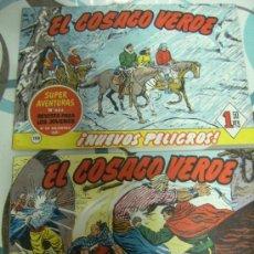 Tebeos: DOS TEBEOS EL COSACO VERDE Nº 123 Y 135. Lote 21570374