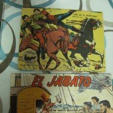 Tebeos: DOS TEBEOS EL JABATO Nº 166 Y ORO EN LA FRONTERA. Lote 21570771