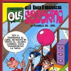 Tebeos: OLE , EL BOTONES SACARINO , Nº 53 , 1ª EDICION , 1971 , 40 PTS. , NUMERO EN EL LOMO. Lote 26907312