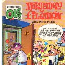 Tebeos: TEBEOS-COMICS GOYO - MORTADELO Y FILEMON - SOLOS ANTE EL PELIGRO 221 *AA99. Lote 21680610