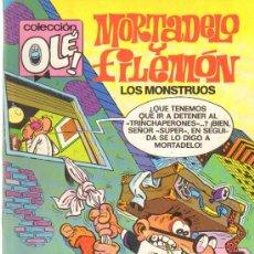 Tebeos: TEBEOS-COMICS GOYO - MORTADELO Y FILEMON - LOS MONSTRUOS 59 -1ª EDIC *AA99. Lote 21680665
