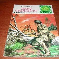 Tebeos: BRUGUERA. JOYAS LITERARIAS JUVENILES Nº 41: DAVY CROCKETT (1972). Lote 26069251
