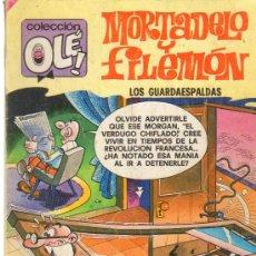 Tebeos: TEBEOS-COMICS GOYO - MORTADELO Y FILEMON - LOS GUARDAESPALDAS 145 *CC99. Lote 23186390
