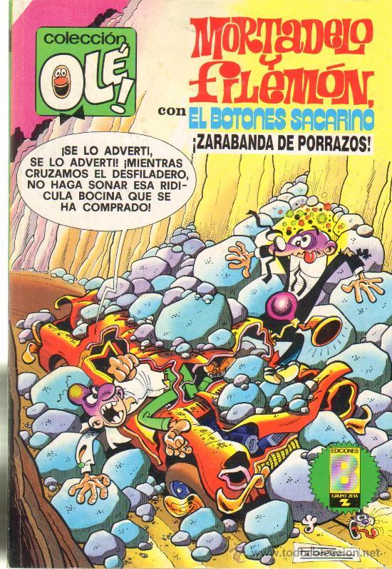 TEBEOS-COMICS GOYO - MORTADELO Y FILEMON - ZARABANDA DE PORRAZOS 97 -1ª EDIC *AA99 (Tebeos y Comics - Bruguera - Mortadelo)