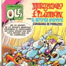 Tebeos: TEBEOS-COMICS GOYO - MORTADELO Y FILEMON - ZARABANDA DE PORRAZOS 97 -1ª EDIC *AA99. Lote 21680969