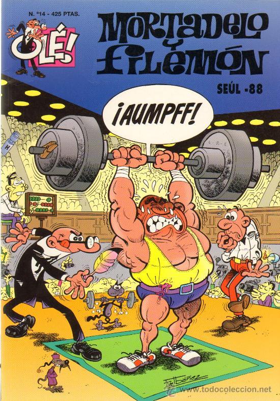 TEBEOS-COMICS GOYO - MORTADELO Y FILEMON - SEUL 1988 - 14 -1ª EDIC *AA99 (Tebeos y Comics - Bruguera - Mortadelo)