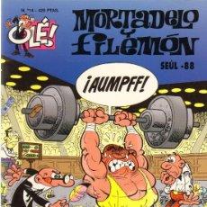 Tebeos: TEBEOS-COMICS GOYO - MORTADELO Y FILEMON - SEUL 1988 - 14 -1ª EDIC *AA99. Lote 21681138