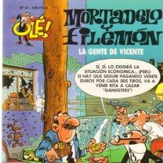 Tebeos: TEBEOS-COMICS GOYO - MORTADELO Y FILEMON - LA GENTE DE VICENTE 42 -1ª EDIC *AA99. Lote 21681180