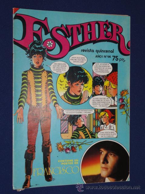ESTHER. REVISTA QUINCENAL AÑO I Nº 14 - BRUGUERA 1982 (Tebeos y Comics - Bruguera - Esther)