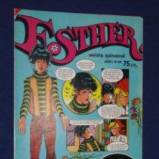 Tebeos: ESTHER. REVISTA QUINCENAL AÑO I Nº 14 - BRUGUERA 1982. Lote 21707156