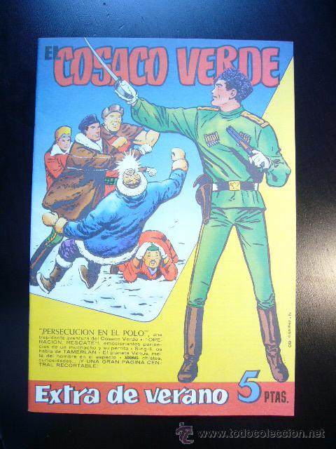 EL COSACO VERDE EXTRA DE VERANO 1961 EDICION FACSIMIL ......C12 EAC (Tebeos y Comics - Bruguera - Cosaco Verde)