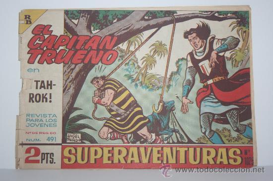 EL CAPITAN TRUENO -- EDICION ORIGINAL (1968) (Tebeos y Comics - Bruguera - Capitán Trueno)