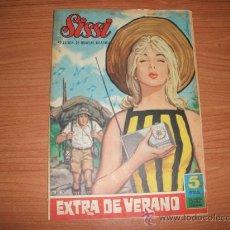 Tebeos: SISSI SELECCION DE NOVELAS GRAFICAS EXTRA DE VERANO 1961. Lote 21731596