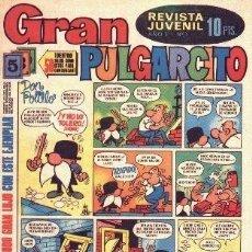 Tebeos: GRAN PULGARCITO ( BRUGUERA ) ORIGINAL 1969-1970 LOTE. Lote 27136697
