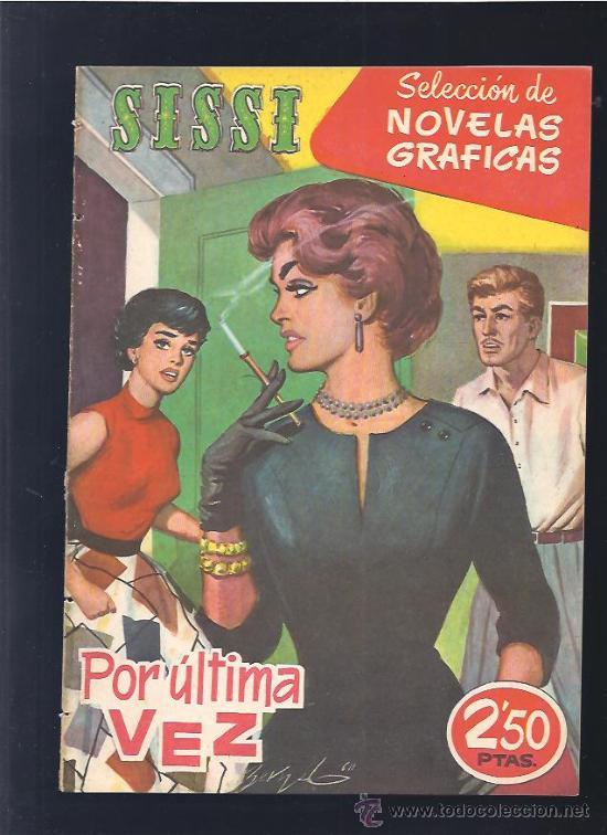 SISSI NOVELAS GRAFICAS 72 (Tebeos y Comics - Bruguera - Sissi)