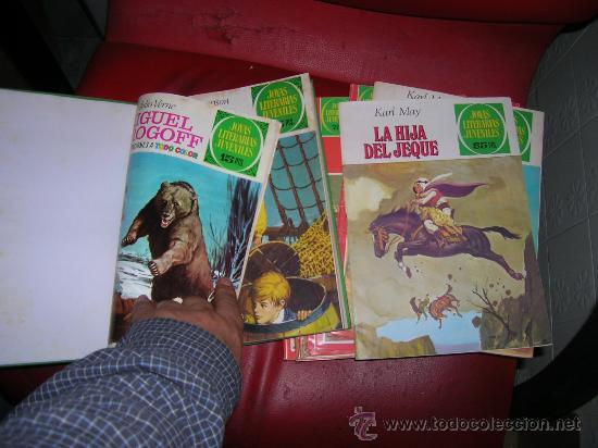 COLECCION JOYAS LITERARIAS JUVENILES BRUGUERA VER FOTOS (Tebeos y Comics - Bruguera - Joyas Literarias)