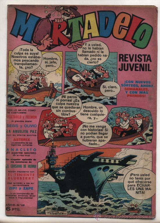 MORTADELO Nº 68. (Tebeos y Comics - Bruguera - Mortadelo)