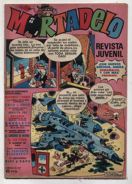 MORTADELO Nº 67. (Tebeos y Comics - Bruguera - Mortadelo)