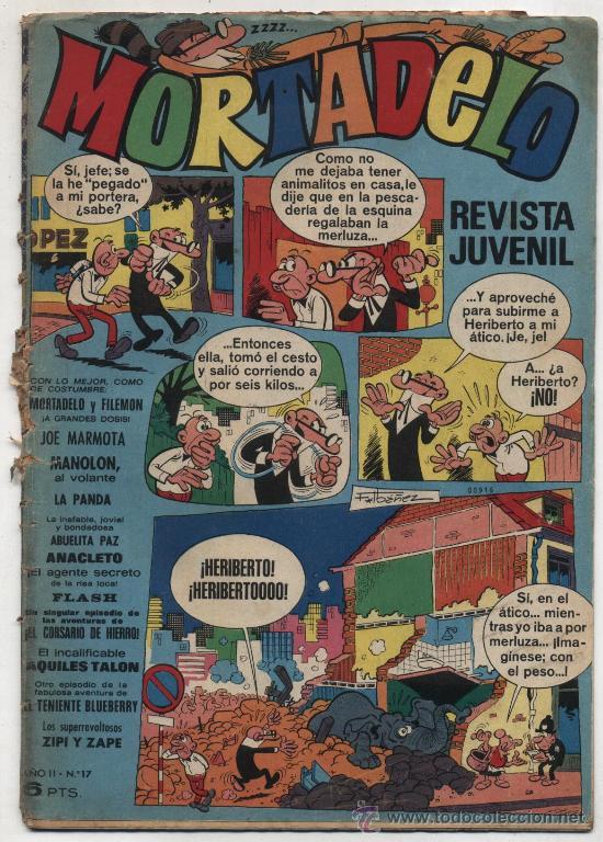 MORTADELO 17. (Tebeos y Comics - Bruguera - Mortadelo)