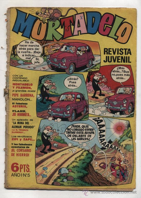 MORTADELO 5. (Tebeos y Comics - Bruguera - Mortadelo)