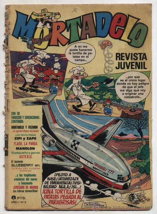 MORTADELO 4. (Tebeos y Comics - Bruguera - Mortadelo)