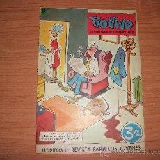Tebeos: TIO VIVO Nº 110 2 ª EPOCA EDITORIAL BRUGUERA 1961. Lote 21861810