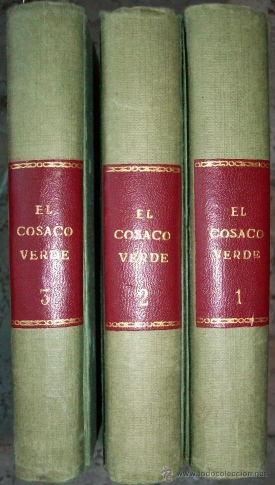Tebeos: el cosaco verde (bruguera) 144 ej (completa) (encuadernada en 3 tomos) - Foto 2 - 6603825