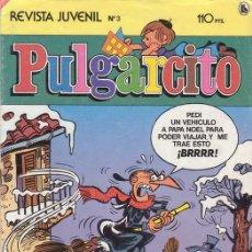 Tebeos: PULGARCITO Nº 3. TERCERA EPOCA. EDITORIAL BRUGUERA.. Lote 26442491