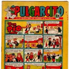 Tebeos: PULGARCITO 1510 CON CAPITAN TRUENO, MORTADELO Y FILEMON,CARPANTA, DOÑA URRACA, REPORTER TRIBULETE,. Lote 22090608