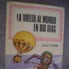 Tebeos: JULIO VERNE: LA VUELTA AL MUNDO EN 80 DÍAS COL. HISTORIAS INFANTIL Nº 29 BRUGUERA. Lote 22154148