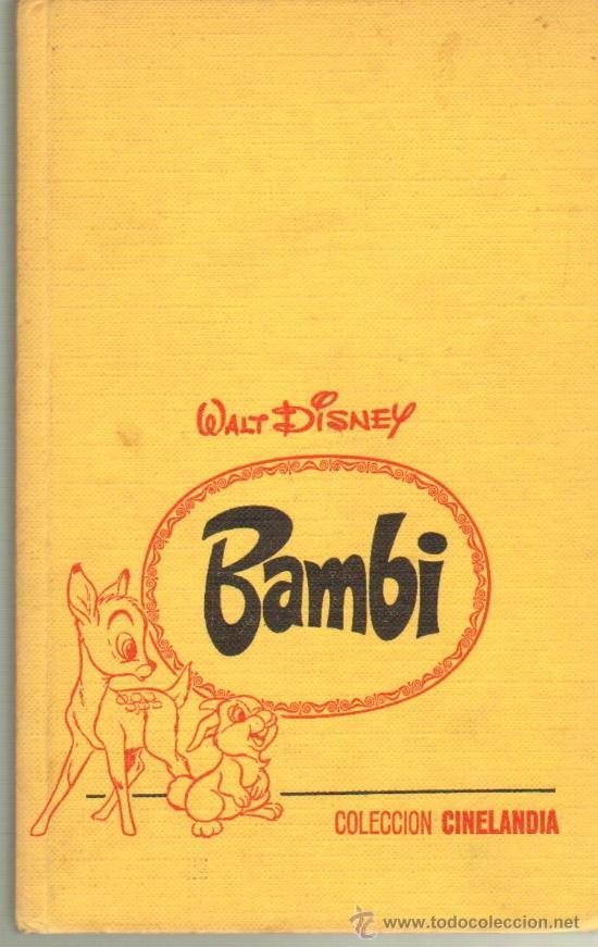 TEBEOS-COMICS GOYO - BAMBI - CINELANDIA COLECCION - WALT DISNEY - 1ª EDICION - BRUGUERA *AA99 (Tebeos y Comics - Bruguera - Otros)