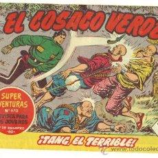 Tebeos: COSACO VERDE Nº 131 - ORIGINAL DE BRUGUERA. Lote 22245713