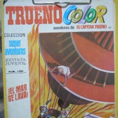 Tebeos: UXTR TRUENO COLOR Nº 82 SEGUNDA EPOCA 1976 BRUGUERA SUPER AVENTURAS CAPITAN TRUENO EL MAR DE LAVA¡. Lote 27102862