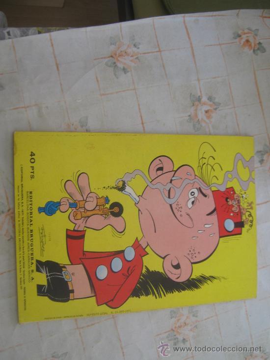Tebeos: EL BOTONES SACARINO,OLE Nº 15 PRIMERA EDICION 1971 - Foto 3 - 22267933