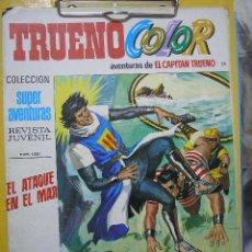 Tebeos: UXTR TRUENO COLOR 52 SEGUNDA EPOCA 1976 BRUGUERA SUPER AVENTURAS CAPITAN TRUENO EL ATAQUE EN EL MAR. Lote 22262717