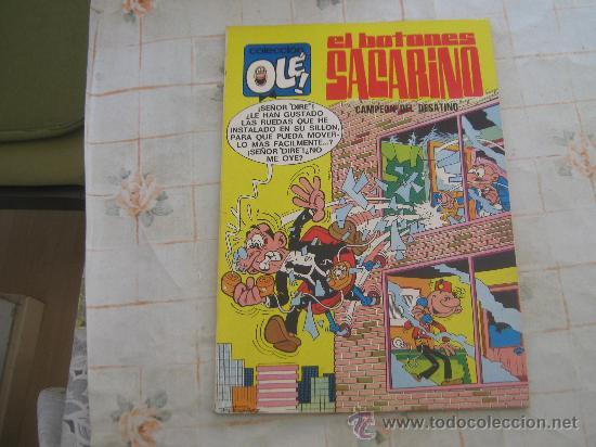 EL BOTONES SACARINO,OLE Nº 15 PRIMERA EDICION 1971 (Tebeos y Comics - Bruguera - Ole)