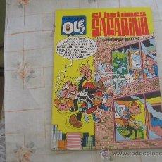Tebeos: EL BOTONES SACARINO,OLE Nº 15 PRIMERA EDICION 1971. Lote 22267933