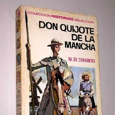 Tebeos: DON QUIJOTE DE LA MANCHA. MIGUEL DE CERVANTES. MUNTÉ MUNTANÉ. HISTORIAS SELECCIÓN, BRUGUERA, 1971.. Lote 25735052