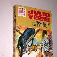 Tebeos: A TRAVÉS DE LA ESTEPA. JULIO VERNE. LUIS RAMOS, ROSO. HISTORIAS SELECCIÓN, BRUGUERA, 1977.. Lote 25853090