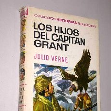 Tebeos: LOS HIJOS DEL CAPITÁN GRANT. JULIO VERNE. HNOS. BADÍA, ROSO. HISTORIAS SELECCIÓN, BRUGUERA, 1968.. Lote 25853093