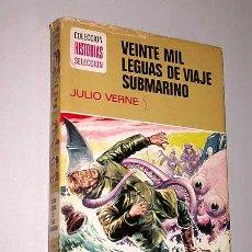 Tebeos: VEINTE MIL LEGUAS DE VIAJE SUBMARINO. JULIO VERNE. VIVAS, PORTO. HISTORIAS SELECCIÓN, BRUGUERA, 1974. Lote 25853096