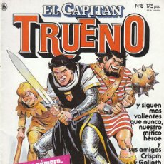 Tebeos: CAPITAN TRUENO Nº 8 (1986). Lote 22373309