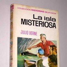 Tebeos: LA ISLA MISTERIOSA. JULIO VERNE.BOSCH PENALVA, CARRILLO. HISTORIAS SELECCIÓN BRUGUERA.. Lote 23334624