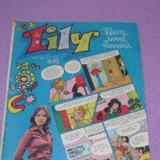Tebeos: LILY Nº 626 ... CONTIENE POSTER + PUBLICIDAD FAMOSA BABY MAMA ** BRUGUERA - AÑO 1973. Lote 26651658