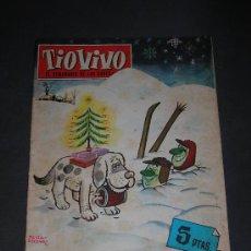 Tebeos: (M-10) TIO VIVO - ALAMANAQUE 1962 - EDT BRUGUERA , LOMO CON ROTURITAS. Lote 26406441